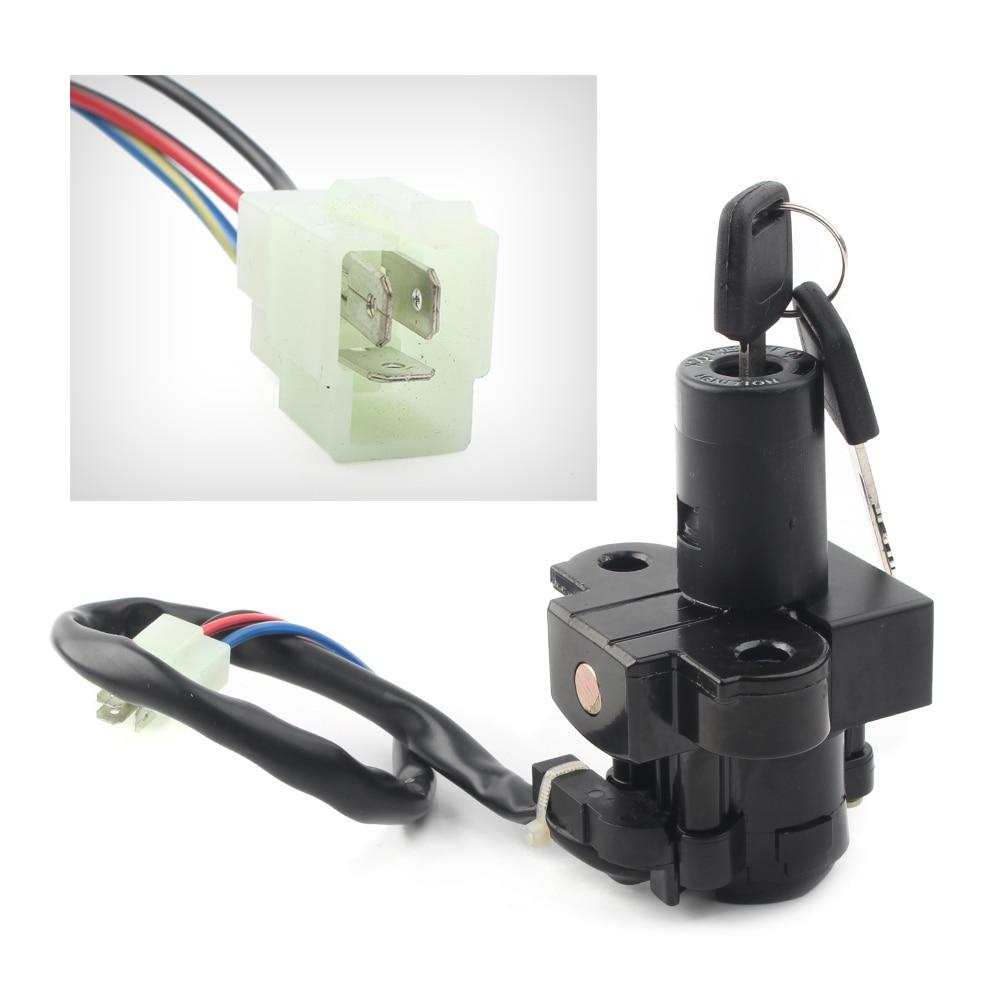Ignition Key Switch Fits YAMAHA BREEZE 125 YFA125 ATV 1995 96 97 1998 1999 00 01