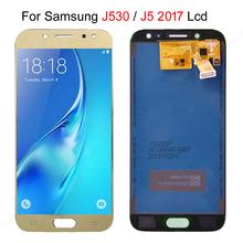 100 Test dla Samsung Galaxy J5 2017 J530 J530F SM-J530F wyświetlacz LCD + ekran dotykowy Digitizer zgromadzenie bezpłatne Shiping może dostosować tanie tanio NONE CN (pochodzenie) Pojemnościowy ekran 1920x1080 3 For Galaxy J530 lcd LCD i ekran dotykowy Digitizer Gold Black light Blue( like white)