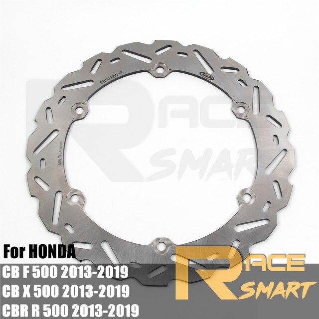 CB500F 2013 2019 Motorrad CNC Front Bremsscheibe Scheiben Rotoren Für HONDA CB500X CBR500R CB500 X CBR500 R 2014 2015 2016 2017 2018