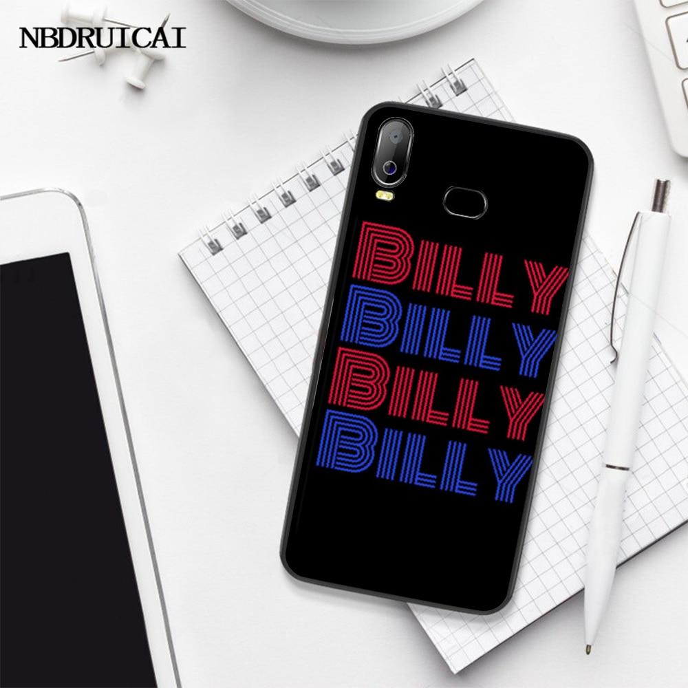 NBDRUICAI การ์ตูนบิลลี่และแมนดี้สีดำ TPU สำหรับ Samsung A10 A20 A30 A40 A50 A70 A7 a9 A6 A8 PLUS 2018