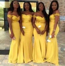 Золотисто желтый топ с блестками платья для подружек невесты