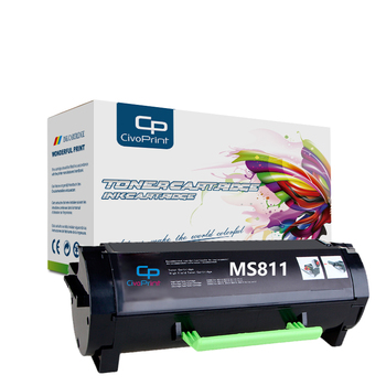 Civoprint Compatible toner cartridge MS811 for Lexmark MS811n MS811dn MS811dtn MS812de MS812dn MS812dtn printer