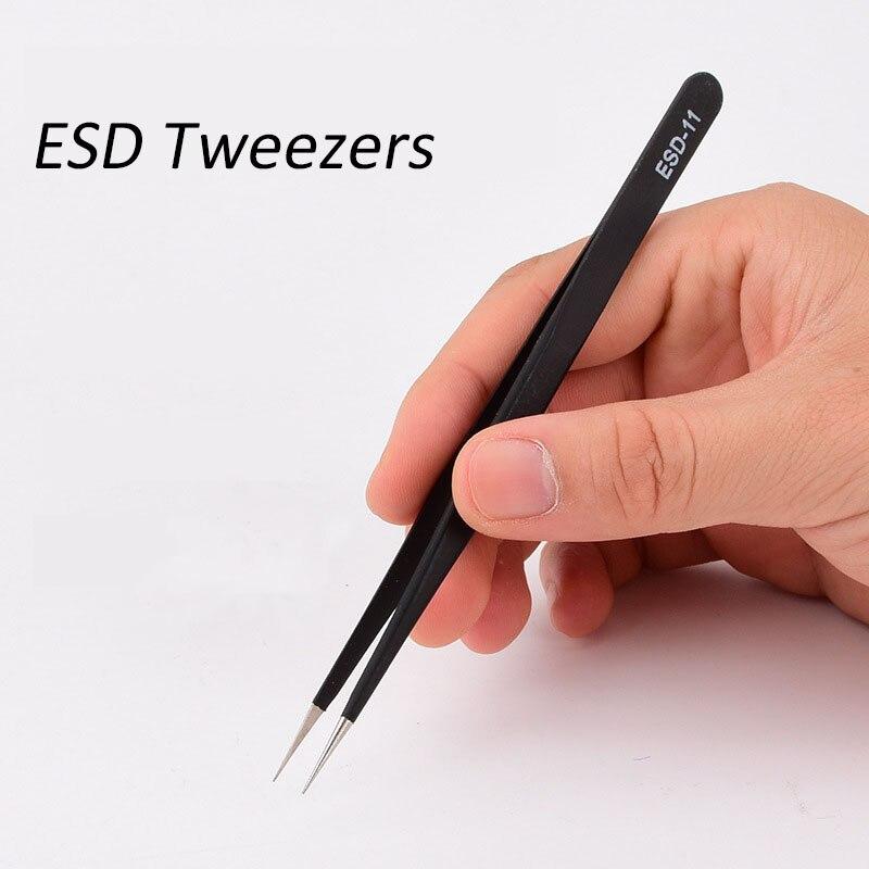 1pc-anti-static-esd-stainless-steel-tweezers-maintenance-tools-industrial-precision-curved-straight-tweezers-repair-tools