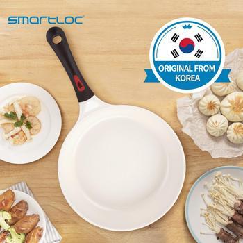 smartloc Korean Aluminum alloy  ceramic coating frying pan cooking pot non stick cookware grill pancake egg pan induction cooker