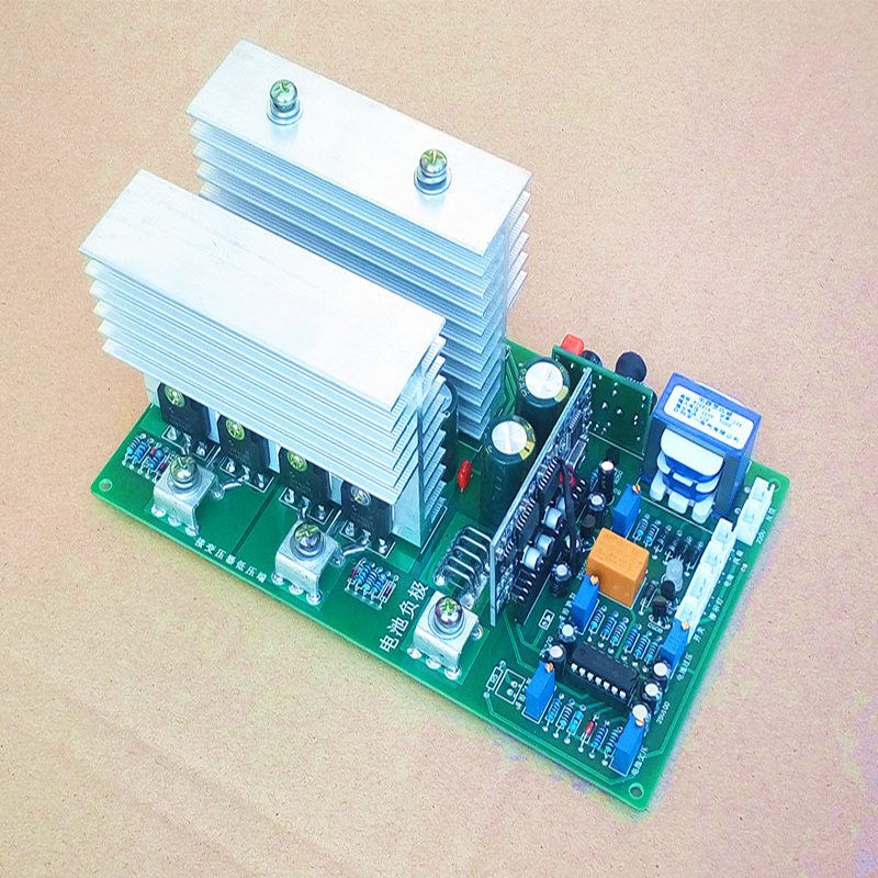 The Main Board of Pure Sinusoidal Power Frequency Inverters Is 12V24V36V48V60V Inverter Driver Board PCB Circuit Board.