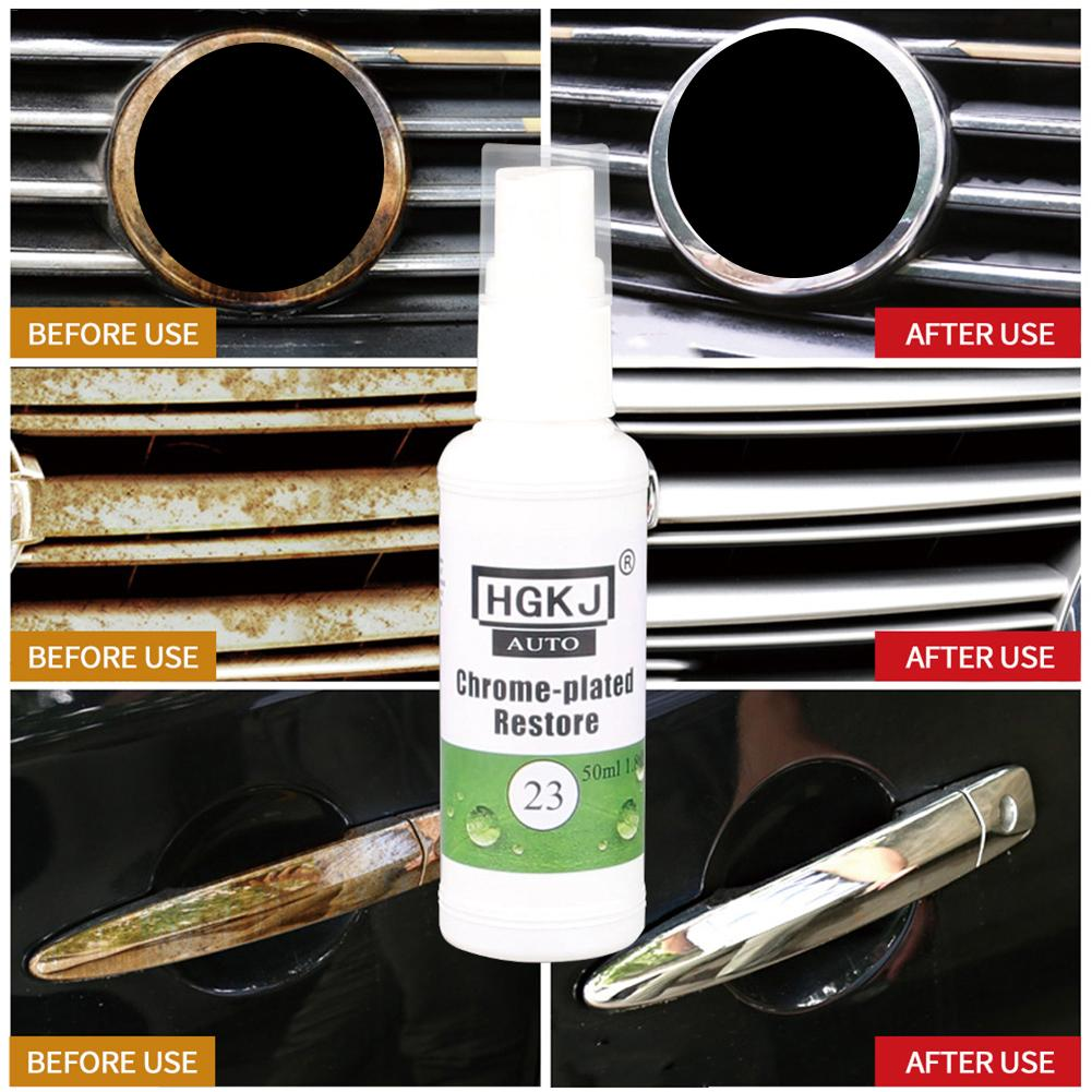 HGKJ-23 Chrome Refurbishment Agent Car Standard Rust Refining Cleaning Agent Anti-rust Lubrication Moisturizing