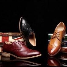 2020 homens sapatos de couro genuíno casual moda alta qualidade designer de luxo sapatos brogue