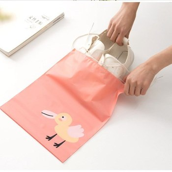 1PC Travel Pouch Portable Storage Bag Waterproof Shoes Clothing Bags Closet Underwear Shoes Sorting Bag Drop Shipping