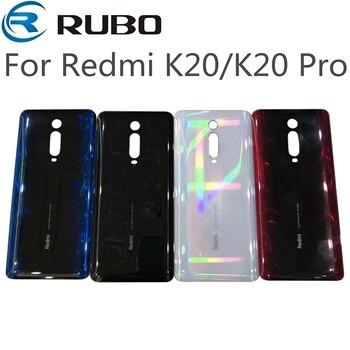 Para Xiaomi Redmi K20 K20 Pro espalda tapa de la batería de cristal, de caso de la puerta trasera de la vivienda para Redmi Mi 9T MI9T Pro Back cubierta de vidrio