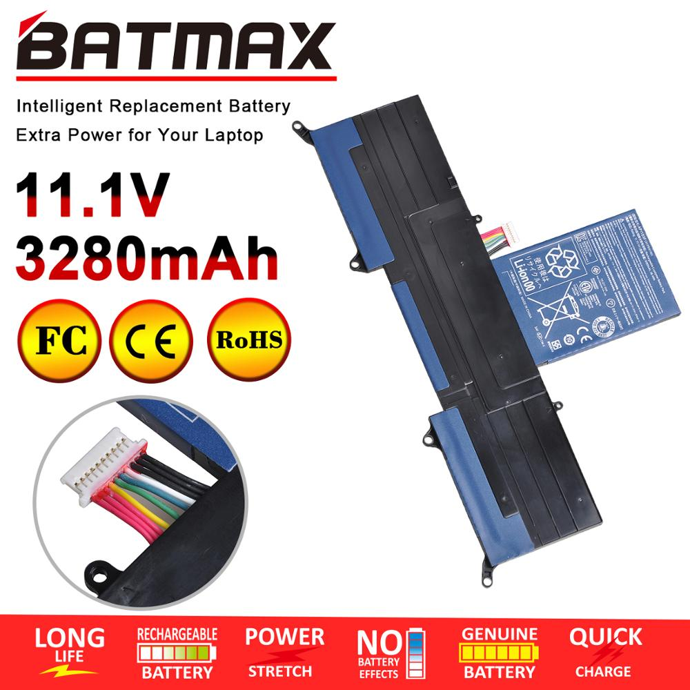 Batmax 1pc Laptop Battery <font><b>AP11D3F</b></font> for ACER Aspire S3 S3-951 S3-951-2464G24iss S3-951-6464 S3-951-6646 MS2346 image