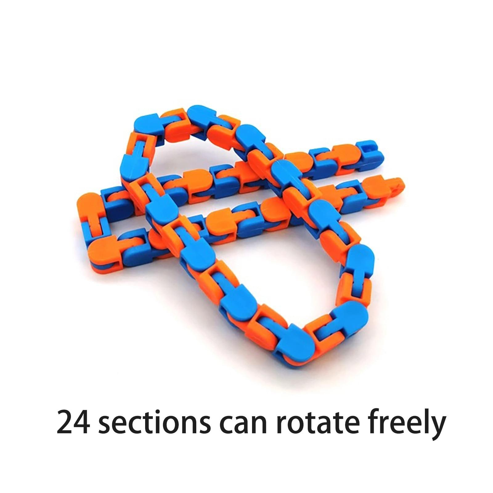 Fidget-Toys Stress Tangle Relief-Rotate Sensory Colorful Shape 24-Bit Puzzle Zabawki img4