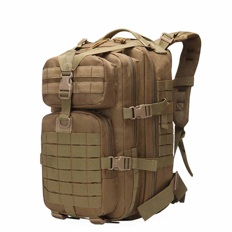 50L Large Capacity Tactical Backpack Military Army Molle Bag Outdoor 3P EDC Assault Pack for Trekking Camping Hunting Bag