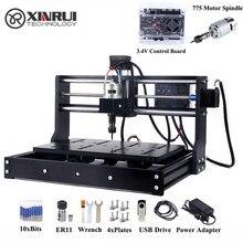 Atualizado cnc 3020 er11 gravador máquina de madeira diy roteador cortador de gravura a laser uso com grbl controle apoio offline.