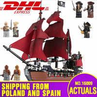 船からスペイン 16009 ザ · アン女王の復讐カリブ海ビルディングブロックセット互換 4195 子供たちのおもちゃモデル