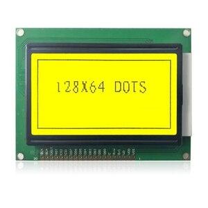 Image 5 - 12864A yazı tipi olmadan 93*70 12864 KS0108 LCD 128*64 12864 mavi/yeşil