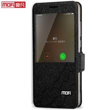 Coque de téléphone à rabat en cuir et silicone, étui de luxe pour xiaomi redmi note 4, version globale
