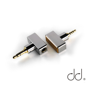 DD ddHiFi DJ44B DJ44C, female 4.4 Balanced adapter. Apply to 4.4mm earphone cable, from brands such as Astell&Kern, FiiO, etc.