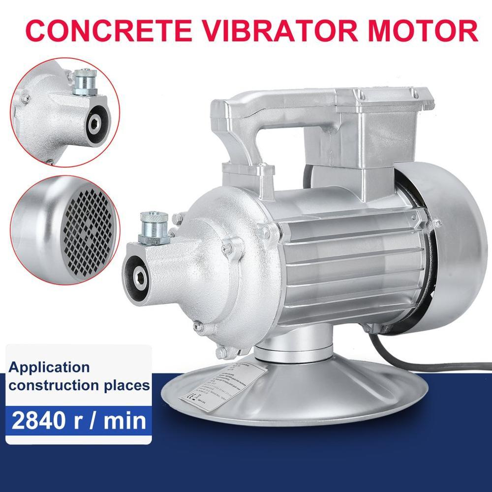 2.2KW Single Phase Vibrating Bottle Durable Concrete Vibrator Motor Hand-Held Iron Shell Concrete Vibrator Bottle EU Plug