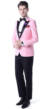 Traje para hombre 2020 primavera y otoño de gama alta personalizado blazers de negocios de tres piezas/traje de boutique delgado