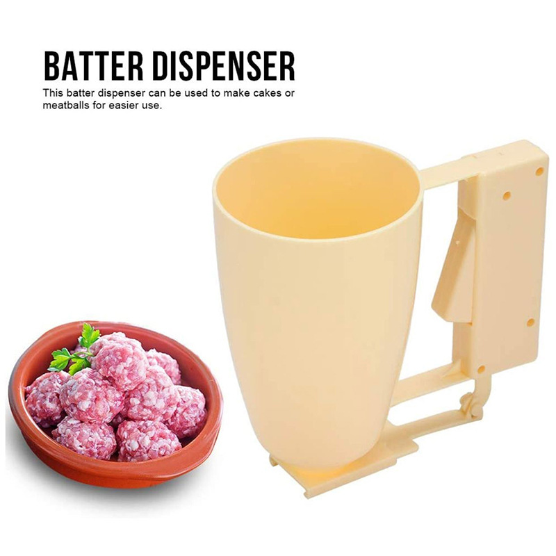 Multifunction DIY Weight Donut Maker Hand-held Batter Dispenser Meatball Maker Waffle Doughnut Machine Cake Cream Dispenser