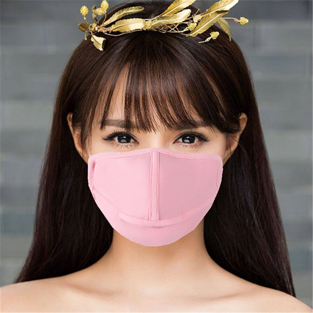 Mask For Anti PM2.5 Smog Virus Washable Face Masks Black Yellow Brown Blue 15 Colors Cartoon Masks Wholesale