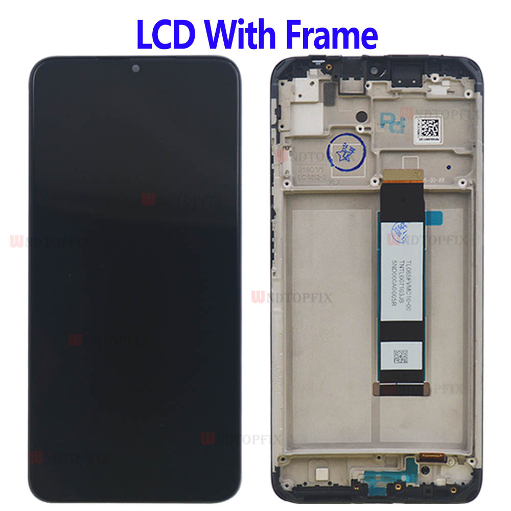 Redmi Note 9 4G LCD Display Touch Screen Digiziter Assembly For Xiaomi