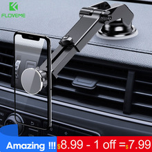 FLOVEME Magnetic Car Phone Holder For iPhone X XS Windshield Mount Stand Samsung S9 S10 Telefon Tutucu