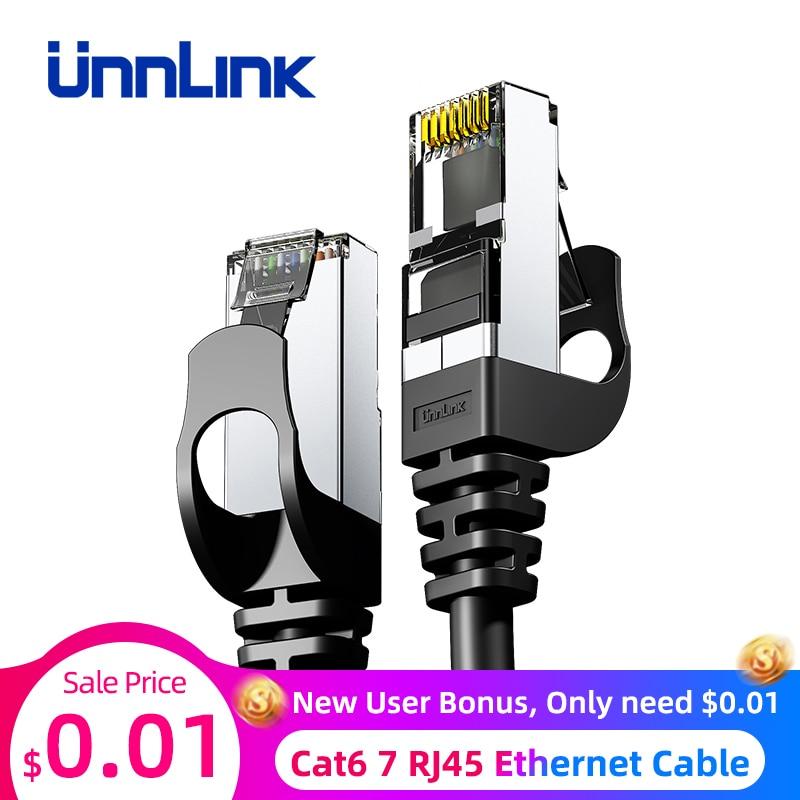 Unnlink Ethernet Cable UTP Cat6 STP Cat7 Lan Cable RJ45 2m 3m 5m 8m 10m Network Patch Cable For PC Computer Modem Router TV Box