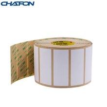 Chafon 100 Pcs 1 ~ 15 M 860 ~ 960Mhz EPC Gen2 Voorruit Rfid Tag Alien H3 Chip Met 3 M Lijm Voor Voertuig Parkeren