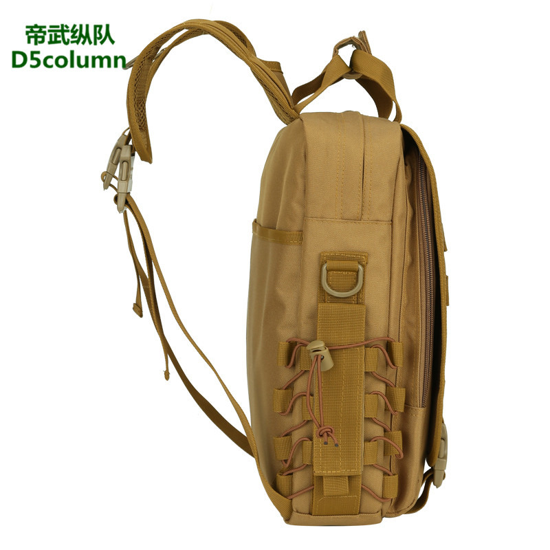 Casual Backpack Army Fans Outdoor Backpack Fashion Large Capacity Shoulder Men's Bag Waterproof 14-Inch Only Computer Bag