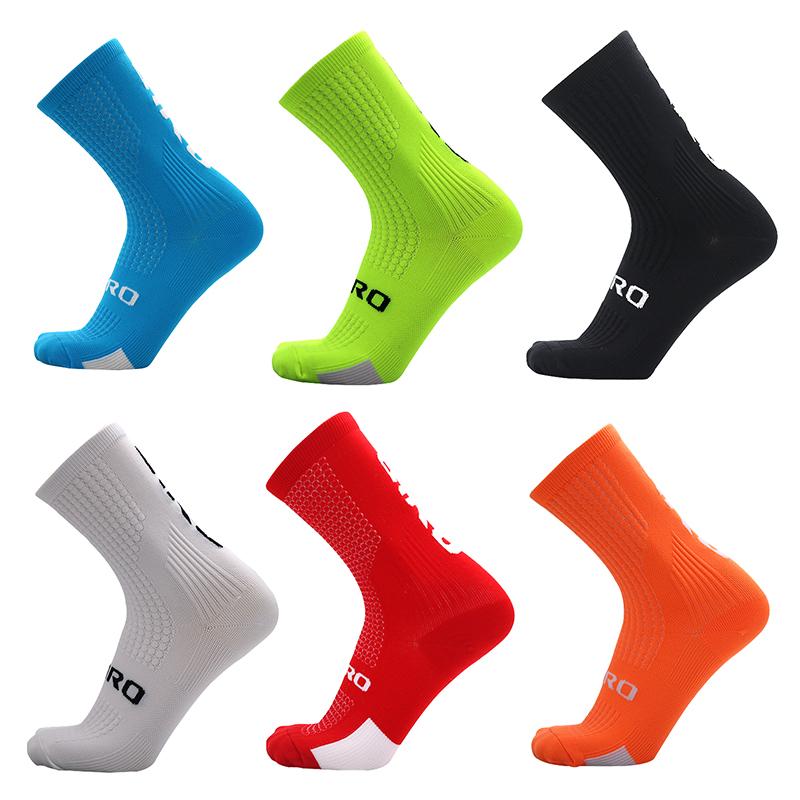 New Bike Riding Socks, Outdoor Sports Socks, Basketball Running Training, Compression Function Socks.