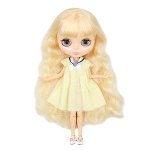Image 3 - ICY factory Blyth doll Joint body with hands Glossy face with big breast different hair color Natural skin 30cm 1/6 toy gift