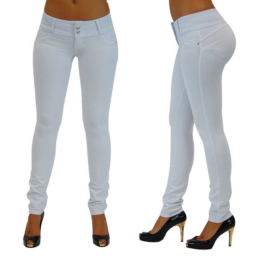New fall sexy slim tights button front button zipper polyester leggings yoga pencil pants in Yoga Pants from Sports Entertainment