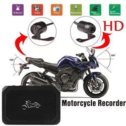 Motocykl Dirver nagrane kamery HD 1080P kamery sportowej kamera na deskę rozdzielczą ze specjalistycznym dwutorowym przednim rejestratorem