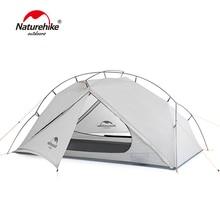 Naturehike VIK Serie 970g Ultraleicht Einzel Zelt 15D Nylon Wasserdicht Camping Zelt Einzigen schicht Outdoor Wandern Zelt