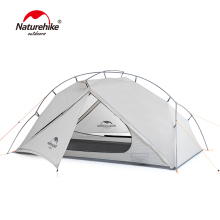 Naturehike VIK Series 970g Ultralight Single Tent 15D Nylon Waterproof Camping Tent Single layer Outdoor Hiking Tent