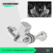 Bracket Motorcycle-Holder for DUCATI Multistrada 950 1200-1260 Mount Cam-Camera Driving-Recorder