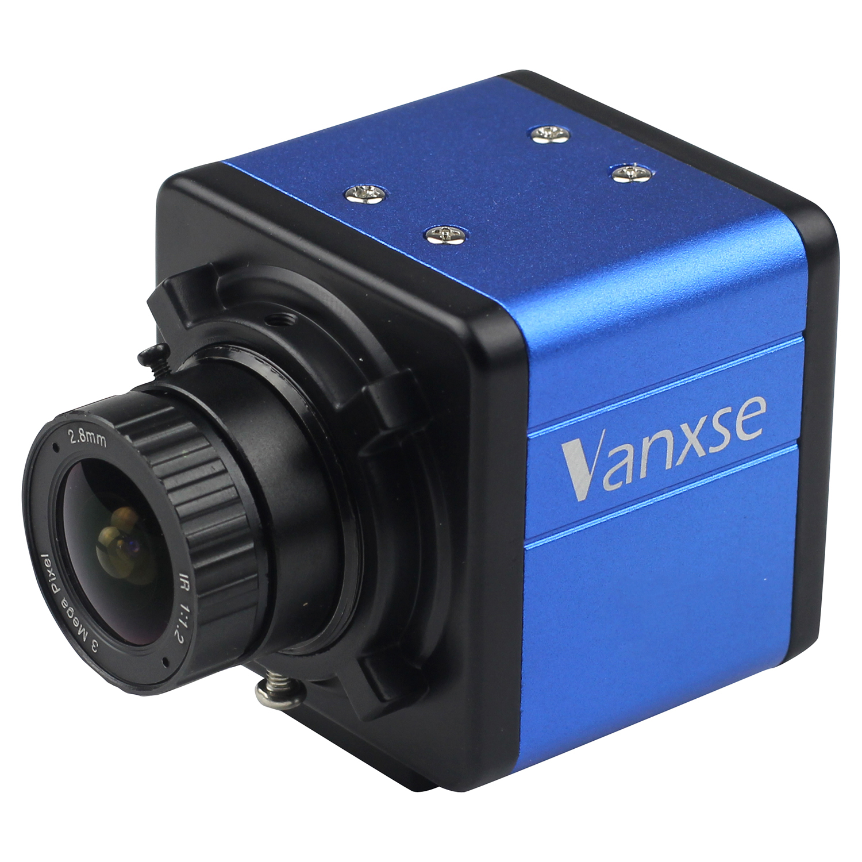 Vanxse CCTV objectif grand angle 2.8mm   1/3 SONY Effio CCD 1000TVL/960H, caméra de sécurité CCTV