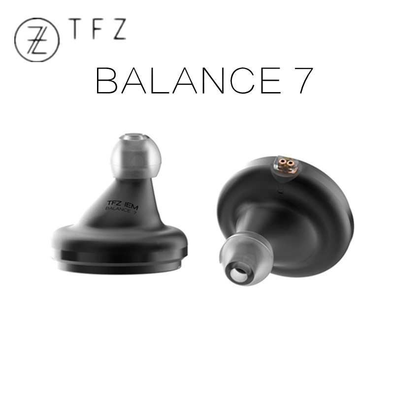 TFZ BALANCE 7 in ear earphones flat high fidelity audio HIFI monitor earphones with 0.78mm PIN detachable cable free shipping