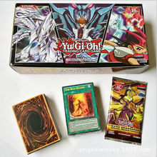100 pieces no repeat cartoon YU GI play card card collection boys Duel Monsters board role-playing games paper cards fantasy(China)