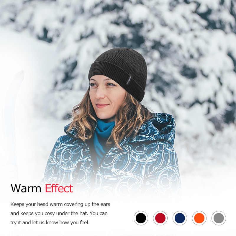AONIJIE M27S الرجال النساء الشتاء الحرارية الرياضة مترهل قبعة متماسكة قبعة الجمجمة قبعة لتشغيل ماراثون السفر الدراجات