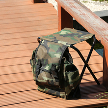 Sfit Multifunction Fishing Backpacks Chair Portable Folding Chair For Outdoor  Hiking Camping Chair Hunting Climbing Equipment 2018 outdoor hunting camouflage tents bird watching photography tent shoot bird chair fishing folding chair