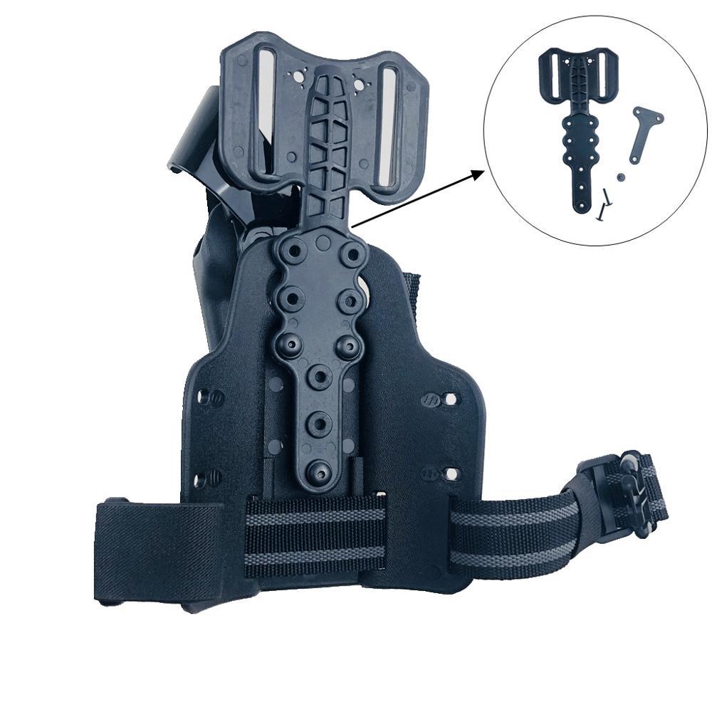 Accessoires de Bague de Sangle de Chasse en Acier Inoxydable Attaches Rapides pour d/étache de Pistolet Kit de Base pour Bouton de vis et Pivot pour vis de Fixation pour Fusil WQ-HUNTING