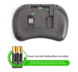 Image 5 - Vmade Mini clavier rétroéclairé sans fil i8 2.4GHZ, 3 couleurs, pour ordinateur portable, Mini Box Android TV
