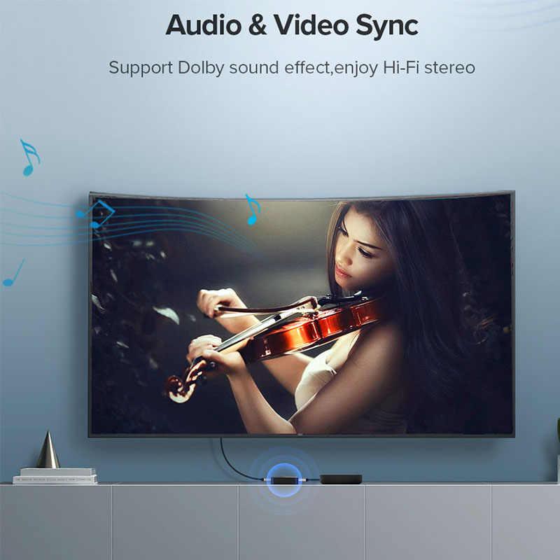 Rozdzielacz HDMI 1 na 2 wyjścia 1x2 konwerter 4K 3D Full HD hdcp 1080p przełącznik HDMI Hub dla PS4/3 wzmacniacz przejściówka rozgałęziająca