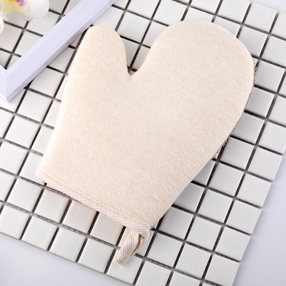 Bath Mittens Exfoliating Shower Gloves Dry Spa Antibacterial Health Combo For Dry Skin Cellulite General Grime Cleansing Tool