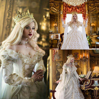 Retro Medieval Gothic Wedding Dresses Off Shoulders Long Sleeves victorian fairytale Bridal Gowns Romantic Country Wedding Gown