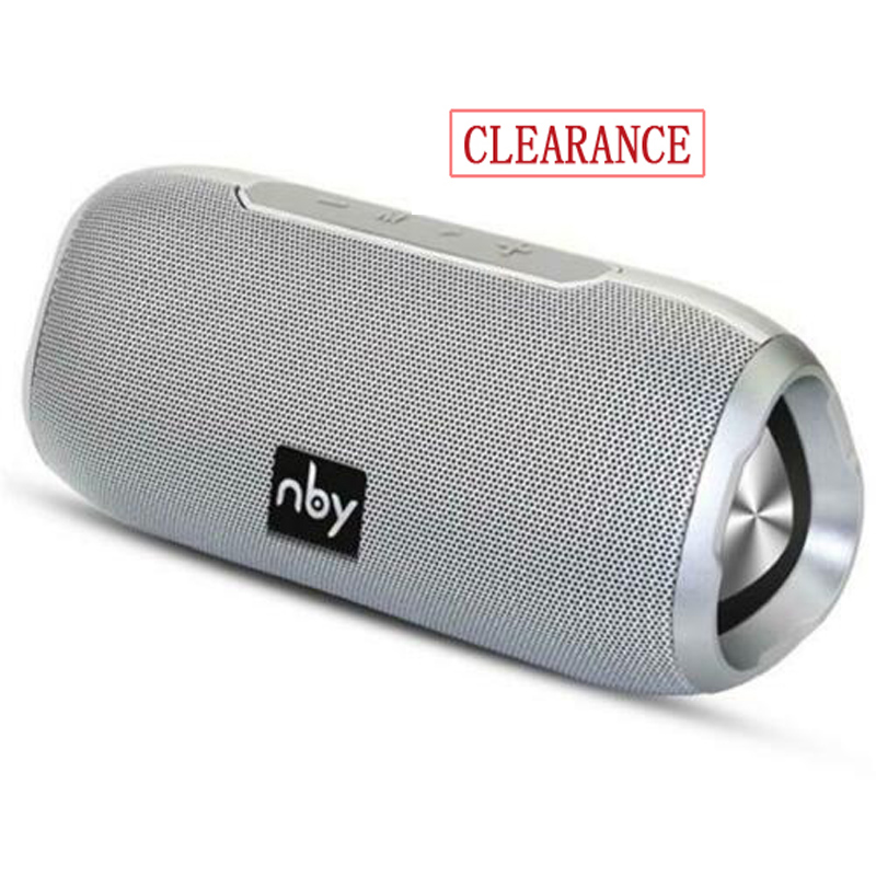 NBY 6660 Bluetooth Speaker Portable Wireless Loudspeakers For Phone Computer Stereo Music Surround Waterproof Outdoor Speakers