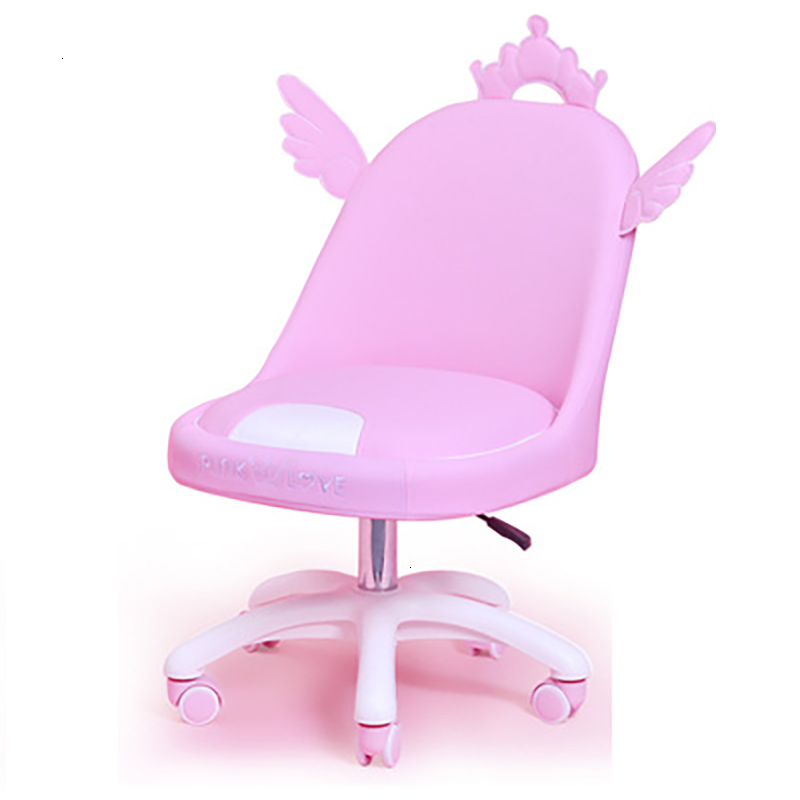 Luxury Quality Cute Girl Pink Home Ergonomics Chair Silla Gamer Chaise Office Computer Poltrona Cadeira With Footrest Furniture