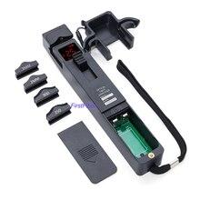 Identificador de fibra óptica 3306B, pequeño y práctico, adecuado para 0,25/0,9/2,0/3,0mm